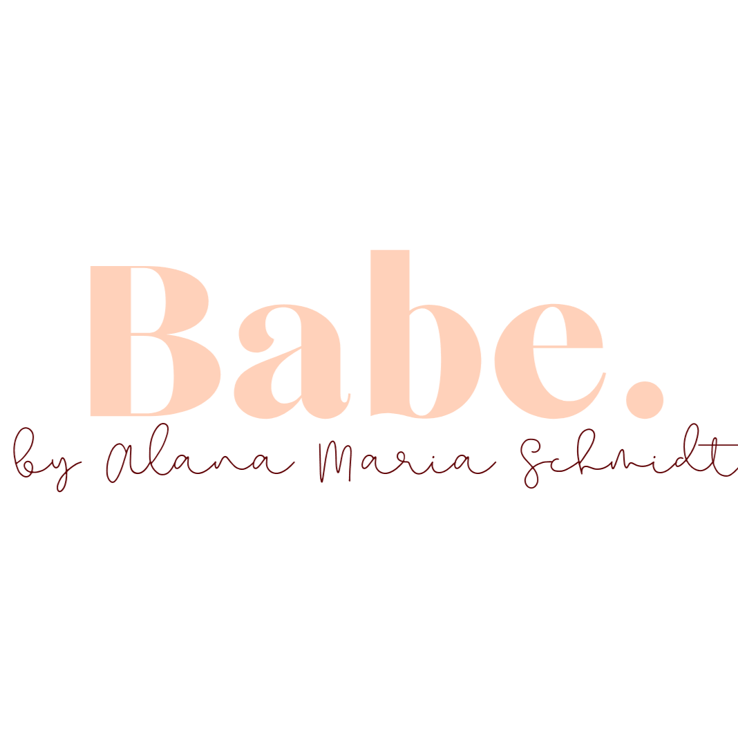 BABE. by alana maria schmidt primary brand logo